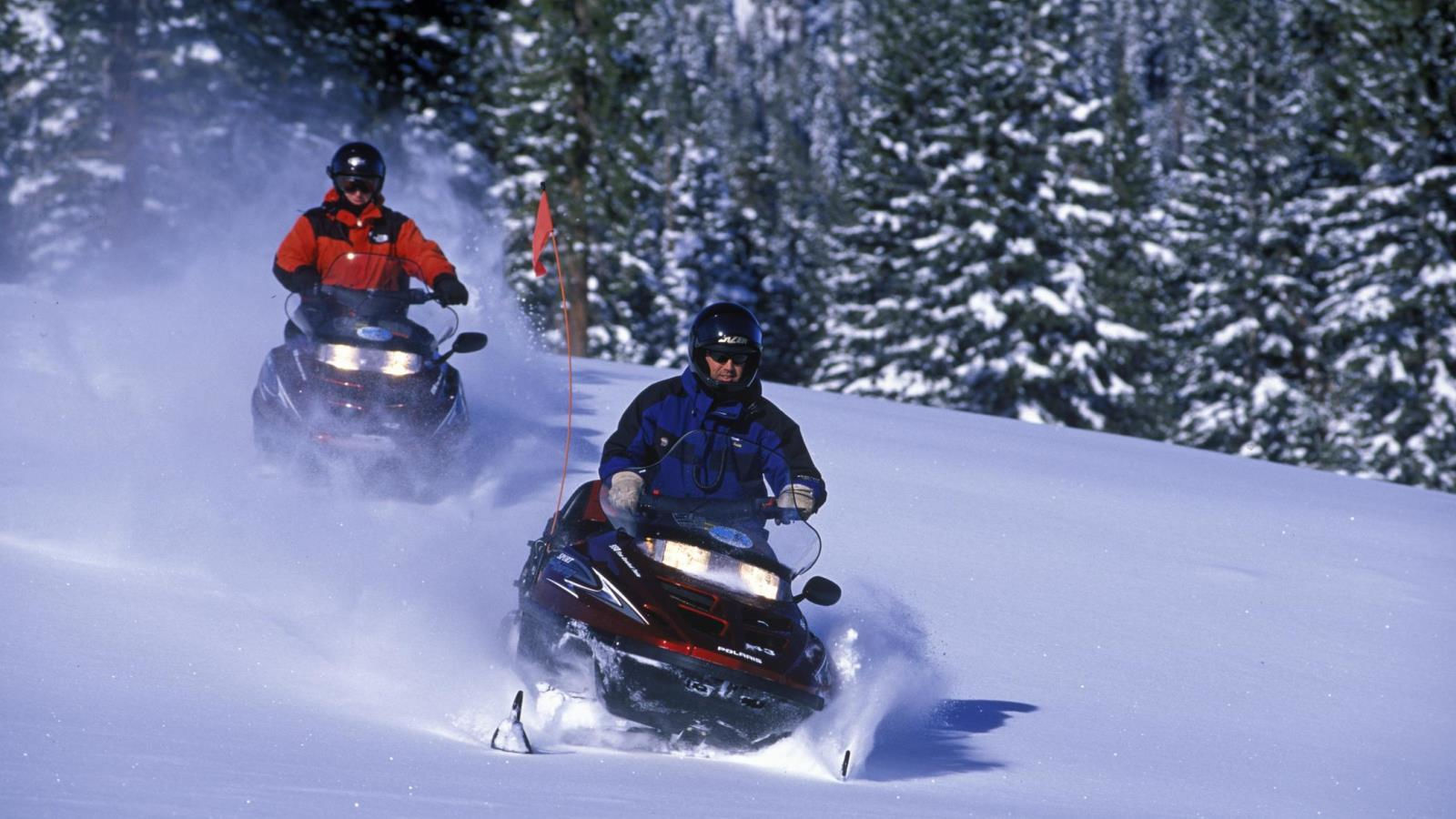 Mammoth Ski Resort - Snowmobiling