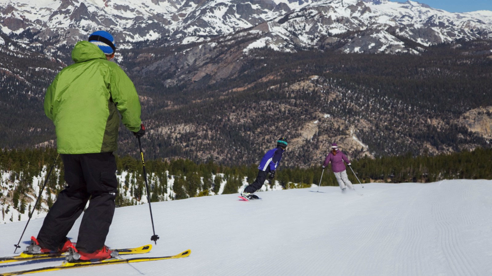 Mammoth Ski Resort - Nordic Skiing